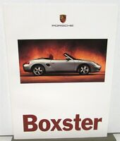 1997 Porsche Boxster Dealer Prestige Sales Brochure