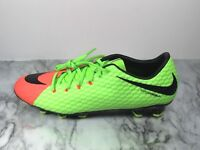01589a3a1 Nike Hypervenom Phelon III FG Green Soccer Cleat Men s Size 11 852556-308