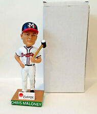 Chris Maloney THE HAMMER 2019 Mississippi Braves Bobblehead SGA