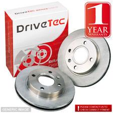 Toyota Avensis MK1 1.6i EST AT220 108 Drivetec Front Brake Discs 260mm Vented