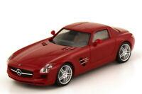 Herpa H0 1:87 034418 Mercedes-Benz SLS AMG, rot-metallic