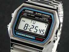 Casio The Original retro vintage unisex classic silver gold orologio uhr steel