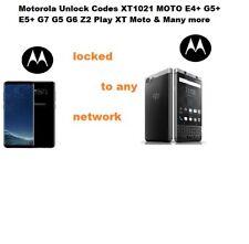 Motorola Unlock Codes Moto C E E3 E4 E5 Moto G G3 G4 G5 G6 Z2 Play & Many More