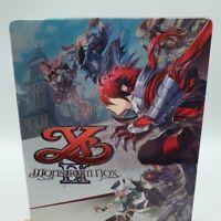 Ys IX MONSTRUM NOX STEELBOOK GEO Japan Limited PS4 Case Only No Game