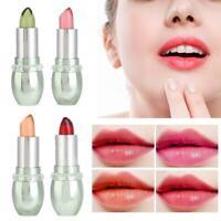 Aloe Vera Gel Moisturizing Color Changing Lip Balm Gloss Long Lasting Lipstick