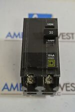 Square D QOB230 30 Amp 2 Pole Bolt-On Circuit Breaker 120/240v 10kA