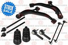 For Caravan 01-04 Front Lh & Rh Lower Control Arms Sway Bar Tie Rods Boots Kit