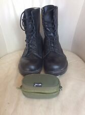 Grafters Black Military Style Boots Size UK 9