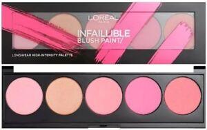 L'Oreal Infallible Blush Paint Palette Pinks