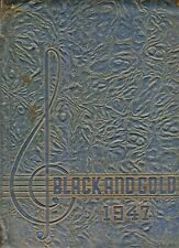 "1947 ""Black & Gold"" Yearbook - Hanes-Reynolds-Gray High Schools-Winston-Salem NC"