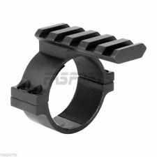 AIM Sports 34mm Tube Scope Adapter / Weaver Base, Small Black