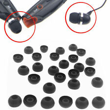 10 Pairs Replacement Silicone EARBUD Tips for Skullcandy in-ear Earphones Black