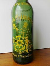 BOUTEILLE sérigraphié Bière bock Gambring vintage crêperie 100 cl collection