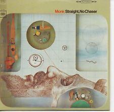 CD Thelonious Monk Straight, no chaser - MINI LP REPLICA CARD SLEEVE - 9-TRACK