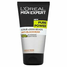 L'Oreal Men Expert Exfoliating Gel Pure Power Anti-Blackhead Face Scrub 150 ml