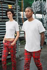 G-STAR RAW ELWOOD X25 X PHARRELL JEANS 29x32 ROYAL TARTAN RED PRINT BRAND NEW