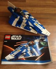Lego Star Wars-Plo Koon's Jedi Starfighter 8093 + Instrucciones Y Mini Figuras