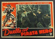 Duello col Pirata Nero - Terry & Gaze Locandina 1938 Film Poster Plakat (Y-4440+