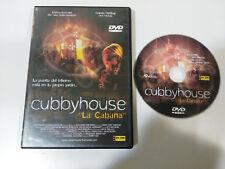CUBBYHOUSE LA CABAÑA MURRAY FAHEY DVD TERROR HORROR ESPAÑOL ENGLISH &