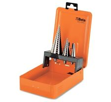 Beta Tools 425/SP3 Set of 3 Stepped Drills in Metal Box