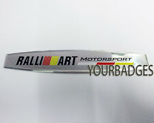 Sheet Aluminium Mitsubishi Motorspor Ralli Art Car Badge