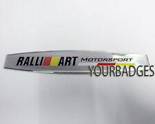 Sheet Aluminium Mitsubishi Motorspor Ralli Art Car Badge