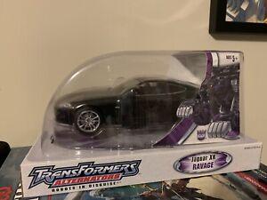 Transformers Alternators Jaguar XK Ravage Rare 2006 New Sealed