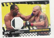 2010 TOPPS UFC FIGHT MAT RELICS ANTONIO ROGERIO NOGUEIRA UFC 106 EVENT-USED