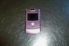 Good Motorola Pink Razr V3m 23Mg Camera Bluetooth Video Flip Phone Verizon
