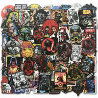 100Pcs Star Wars Vinyl Graffiti Stickers Bomb Decals Laptop Skateboard Luggage