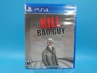 jeu video neuf sony ps4 neuf USA limited run #132 kill the bad guy