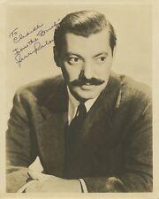 Vintage JERRY COLONNA Signed Photo