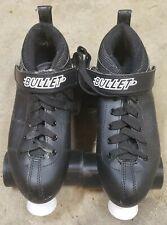 Chicago Bullet Quad Speed Roller Skates Men's Size 5 Black  Look New