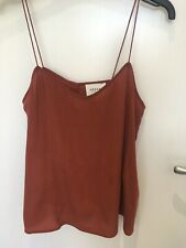 Sezane Silk Camisole Top Size 38