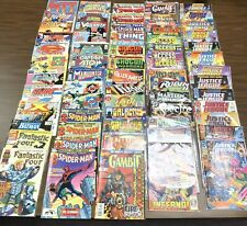 Massive Collection Of 66 Marvel And DC Comic Books