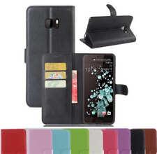 Case Cover For HTC U Ultra | U Play | U11 PU Wallet Leather Flip Card Holder