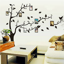 DIY Family Tree Photo Frame Wall Sticker For Home Decor Decal Removable 2016