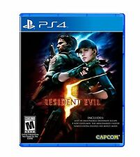 RESIDENT EVIL 5 HD - SONY PS4 - NUOVO SIGILLATO NEW