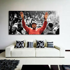 #19 Poster Kanye West Madison Square 27x58 inch (69x147 cm) on Adhesive Vinyl