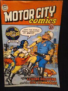 1969 MOTOR CITY COMICS RIP OFF PRESS R. CRUMB