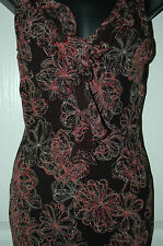 Oasis V Neck Stretch, Bodycon Sleeveless Dresses for Women