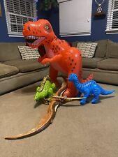 45� T-Rex Dinosaur, Stegosaurus, Brontosaurus, Pterodactyl Inflatables