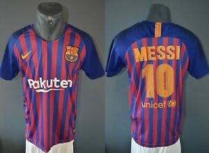 Barcelona Messi Réplique Jersey Football Chemise Hommes 2018/2019 Taille S 5/5