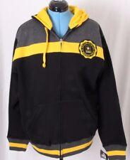NEW US Army Fleece Line Military Black Full Zip Jacket Hoodie J. America Men's L