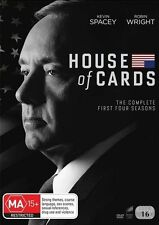 House Of Cards - Season 1 2 3 4 : NEW DVD