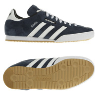 ADIDAS SAMBA BLUE SUEDE MENS TRAINERS SIZE UK 7,8,8.5,9,9.5,10,11,12