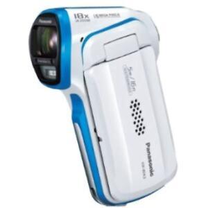 USED Panasonic HX-WA3-W Digital Movie Camera Waterproof Specification White HX-