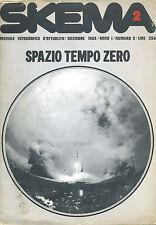 FANTASCIENZA_SKEMA_Anno I, N.2 1969* Spazio Tempo Zero_Tavola centrale* SCI FI
