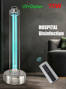 75W Germicidal Ultraviolet Ozone Disinfection Lamp Sterilizer Light AntiBacteria