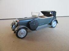 938F Vintage Solido 145 Hispano Suiza H6B 1926 Bleu Métal 1:43